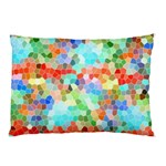 Colorful Mosaic  Pillow Case (Two Sides) Back