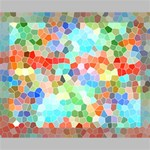 Colorful Mosaic  Deluxe Canvas 20  x 16   20  x 16  x 1.5  Stretched Canvas