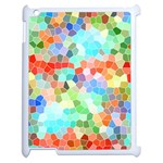 Colorful Mosaic  Apple iPad 2 Case (White) Front
