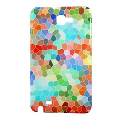 Colorful Mosaic  Samsung Galaxy Note 1 Hardshell Case