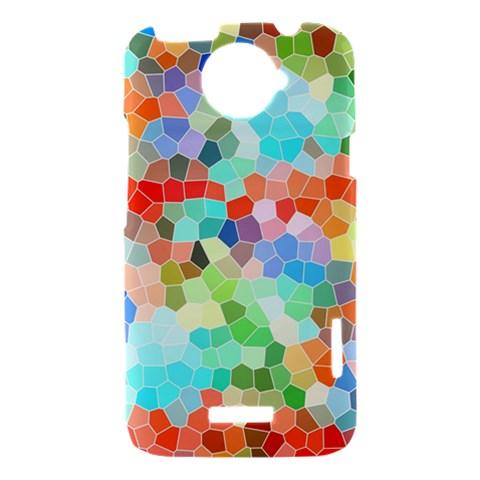 Colorful Mosaic  HTC One X Hardshell Case