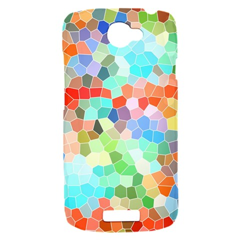 Colorful Mosaic  HTC One S Hardshell Case