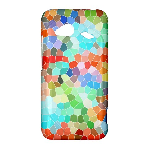Colorful Mosaic  HTC Droid Incredible 4G LTE Hardshell Case