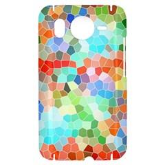 Colorful Mosaic  HTC Desire HD Hardshell Case