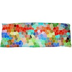 Colorful Mosaic  Body Pillow Case Dakimakura (Two Sides) Back