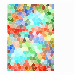 Colorful Mosaic  Small Garden Flag (Two Sides)