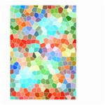Colorful Mosaic  Large Garden Flag (Two Sides) Front