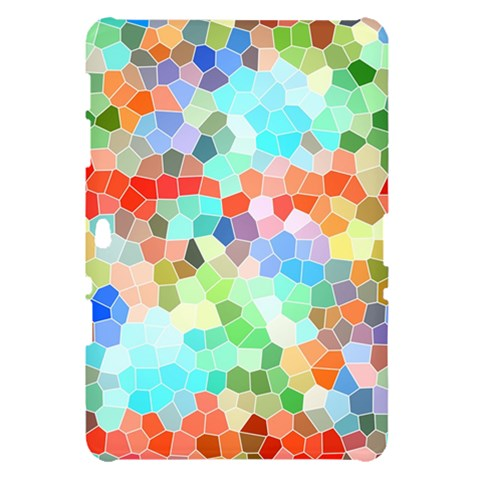 Colorful Mosaic  Samsung Galaxy Tab 10.1  P7500 Hardshell Case