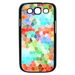 Colorful Mosaic  Samsung Galaxy S III Case (Black) Front