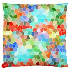 Colorful Mosaic  Large Cushion Case (Two Sides)