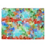 Colorful Mosaic  Cosmetic Bag (XXL)  Front