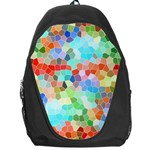 Colorful Mosaic  Backpack Bag Front
