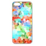Colorful Mosaic  Apple Seamless iPhone 5 Case (Clear) Front