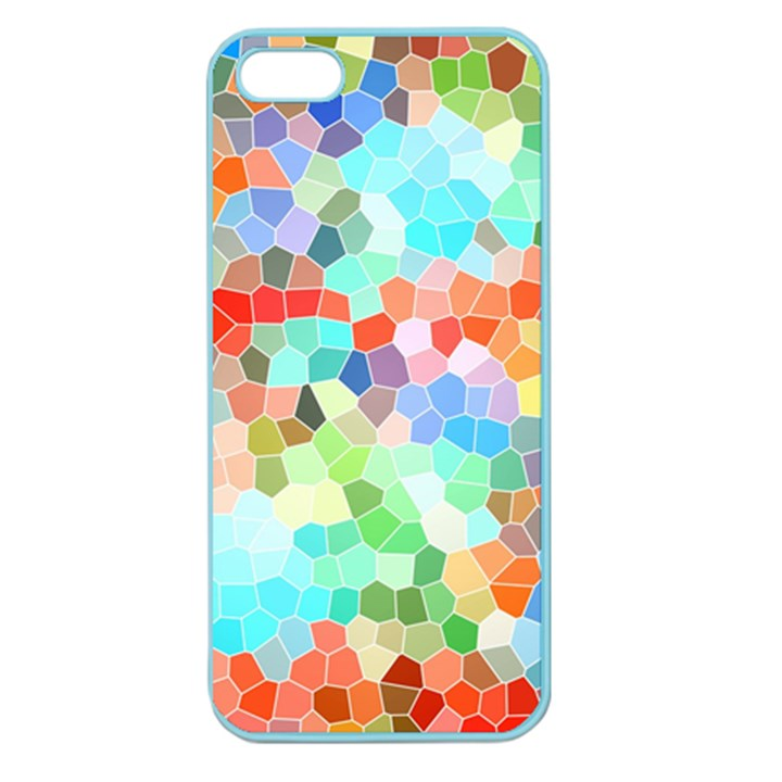 Colorful Mosaic  Apple Seamless iPhone 5 Case (Color)