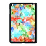Colorful Mosaic  Apple iPad Mini Case (Black) Front