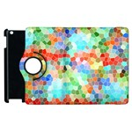 Colorful Mosaic  Apple iPad 2 Flip 360 Case Front
