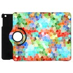 Colorful Mosaic  Apple iPad Mini Flip 360 Case Front