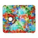 Colorful Mosaic  Samsung Galaxy S  III Flip 360 Case Front