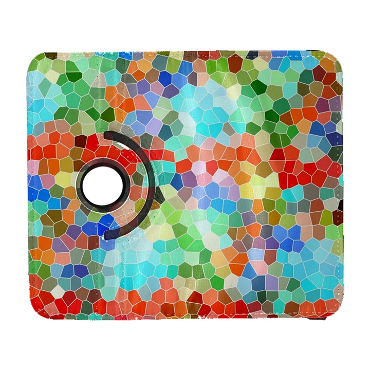 Colorful Mosaic  Samsung Galaxy S  III Flip 360 Case