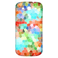Colorful Mosaic  Samsung Galaxy S3 S Iii Classic Hardshell Back Case