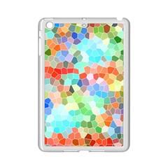 Colorful Mosaic  Ipad Mini 2 Enamel Coated Cases