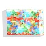 Colorful Mosaic  4 x 6  Acrylic Photo Blocks Front