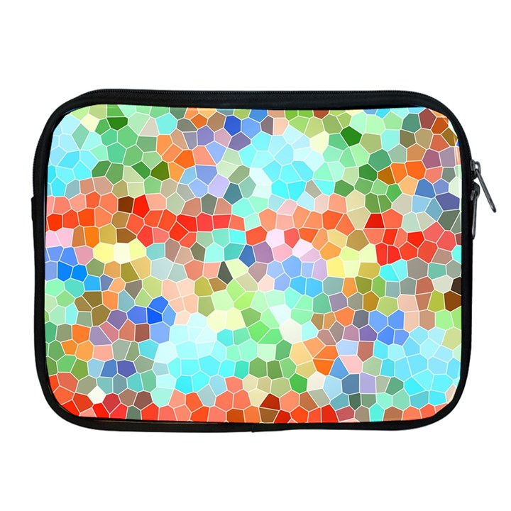 Colorful Mosaic  Apple iPad 2/3/4 Zipper Cases