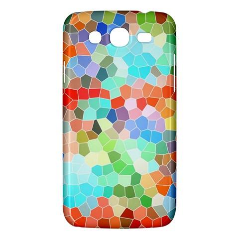 Colorful Mosaic  Samsung Galaxy Mega 5.8 I9152 Hardshell Case