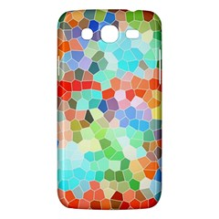 Colorful Mosaic  Samsung Galaxy Mega 5 8 I9152 Hardshell Case