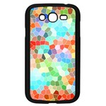 Colorful Mosaic  Samsung Galaxy Grand DUOS I9082 Case (Black) Front