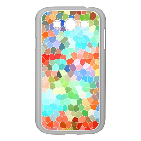 Colorful Mosaic  Samsung Galaxy Grand DUOS I9082 Case (White)