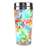 Colorful Mosaic  Stainless Steel Travel Tumblers Center