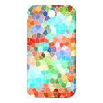 Colorful Mosaic  Samsung Note 2 N7100 Hardshell Back Case Front