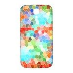 Colorful Mosaic  Samsung Galaxy S4 I9500/I9505  Hardshell Back Case Front