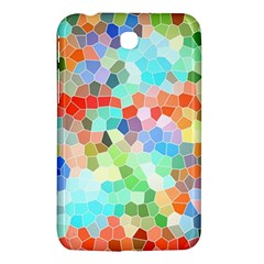 Colorful Mosaic  Samsung Galaxy Tab 3 (7 ) P3200 Hardshell Case