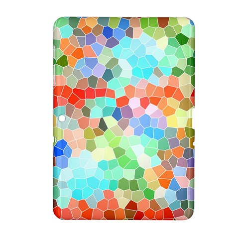 Colorful Mosaic  Samsung Galaxy Tab 2 (10.1 ) P5100 Hardshell Case