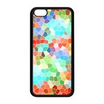 Colorful Mosaic  Apple iPhone 5C Seamless Case (Black) Front