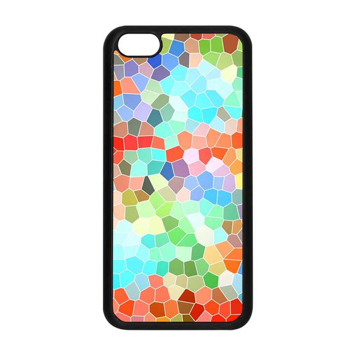 Colorful Mosaic  Apple iPhone 5C Seamless Case (Black)