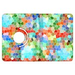 Colorful Mosaic  Kindle Fire HDX Flip 360 Case Front