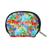 Colorful Mosaic  Accessory Pouches (Small)  Back