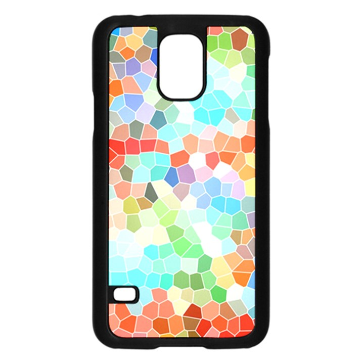 Colorful Mosaic  Samsung Galaxy S5 Case (Black)