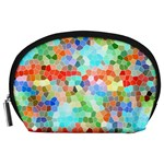 Colorful Mosaic  Accessory Pouches (Large)  Front