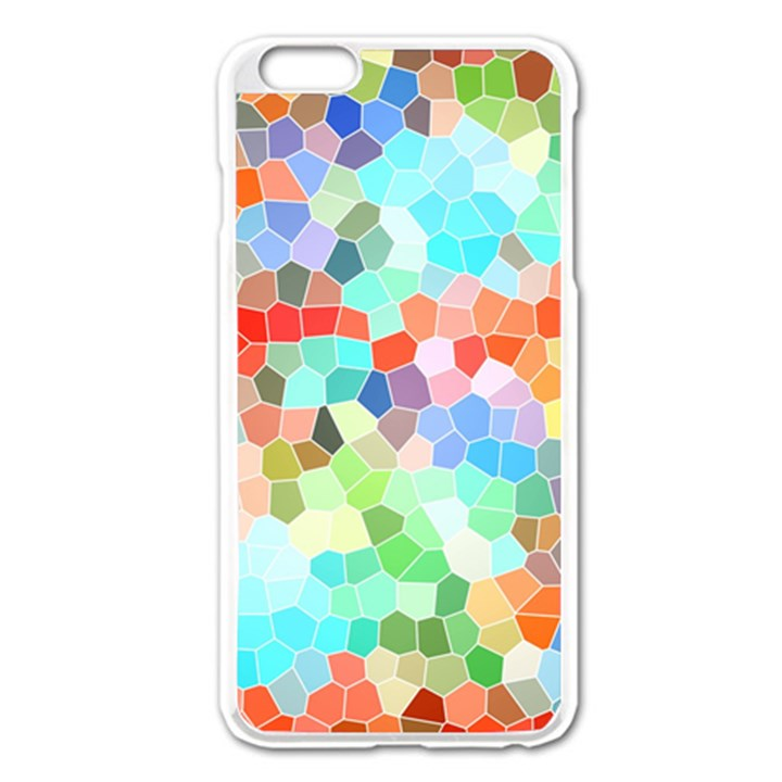 Colorful Mosaic  Apple iPhone 6 Plus/6S Plus Enamel White Case