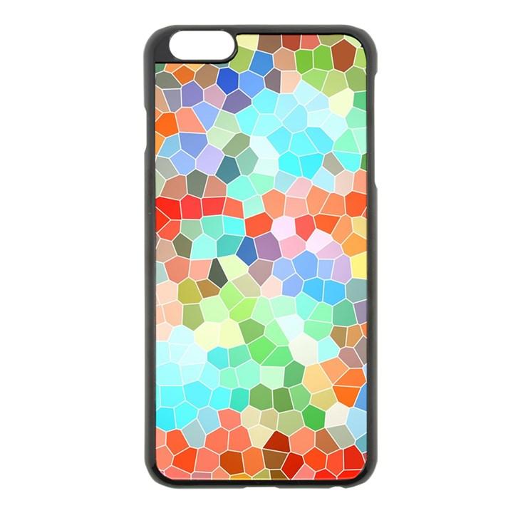Colorful Mosaic  Apple iPhone 6 Plus/6S Plus Black Enamel Case