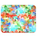 Colorful Mosaic  Double Sided Flano Blanket (Medium)  60 x50 Blanket Back