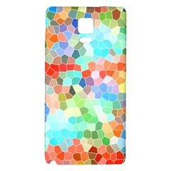 Colorful Mosaic  Galaxy Note 4 Back Case