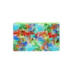 Colorful Mosaic  Cosmetic Bag (XS) Front