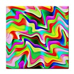 Irritation Colorful Dream Tile Coasters Front
