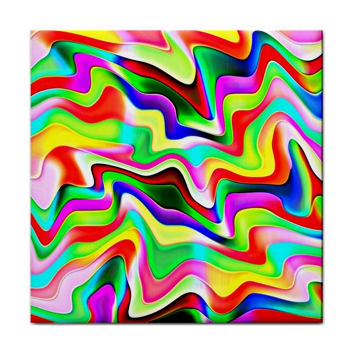 Irritation Colorful Dream Tile Coasters