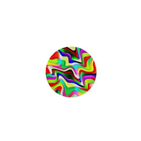 Irritation Colorful Dream 1  Mini Magnets